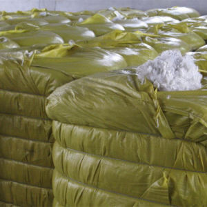 Soft and High Elasticity Recycle Polyester Fiber Polyester Staple Fiber White Color pictures & photos