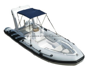 Aqualand 5.8m 19feet Rib Fishing Boats/Rigid Inflatable Motor Boat (RIB580CC) pictures & photos