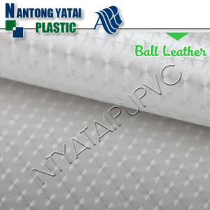 Wear-Resisting Surface Layer PU Synthetic Leather for Balls pictures & photos