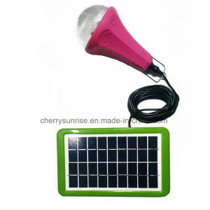 Solar Powered Mini Grave Lights Camping Decorative Light Solar Panel 3W Bulb pictures & photos