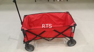 Red Color Brake Wheel Outdoor Camping Wagon pictures & photos