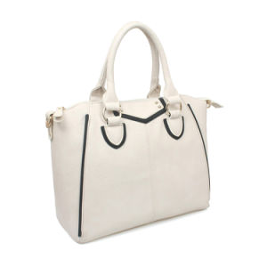 PU Leather Ladies Fashion Tote Crossbody Big Bag (XX031) pictures & photos
