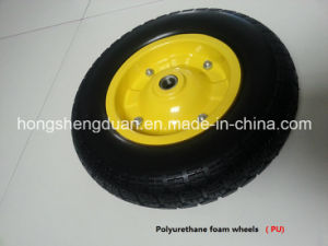 PU Form Wheel with Steel Rim pictures & photos