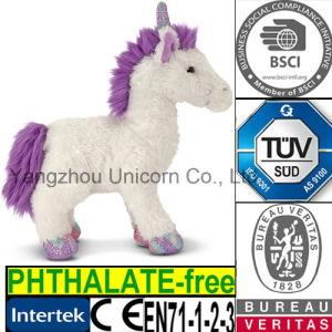 CE PP Cotton Soft Stuffed Animal Unicorn Plush Toy