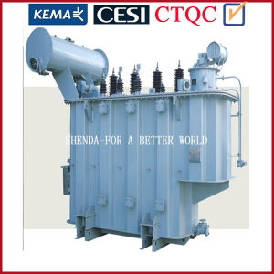 Power Transformer for on Load Tap Changing Three-Phase Oil-Immersed Transformer