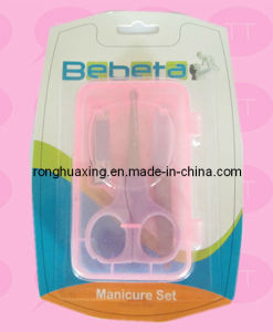 Baby Manicure Set with PVC Case Bs-3p pictures & photos