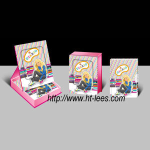 Diary with Lock in Frame-Shape Gift Box (50K050-13-XJ)