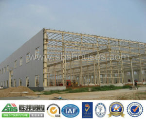 Prefab Designed Steel Structural Warehouse Building Shed pictures & photos
