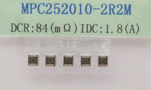 Molding Power Inductor 2.2uh 20%, IDC=1.8A, Dcr=0.084mΩ , Size: 2.5*2.0*1.0mm pictures & photos