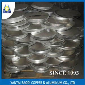 Customized Aluminum Thin Circle Plate pictures & photos