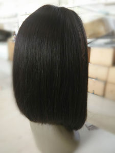 Fashion Pretty Virgin Brazilian Human Hair Glueless Full Lace Wig pictures & photos