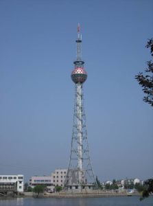 Tubular and Angle Easy-Installation Steel TV Tower pictures & photos