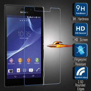 Tempered Glass Screen Guard Film Screen Protector for Sony Xperia M2 M2 Aqua