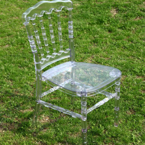 Classic Clear Resin Napoleon Chair for Wedding pictures & photos