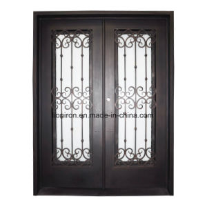 Wrought Iron Exterior Doors Custom with Factory Price pictures & photos