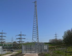 Three Legged Triangular Galvanized Steel Communication Tower pictures & photos