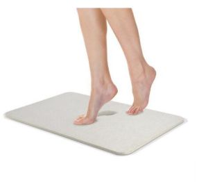 Diatomaceous Absorbent Anti Slip Bath Mat