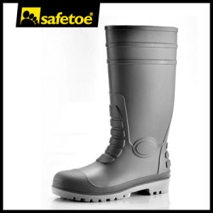 PVC Mining Boots W-6038f pictures & photos