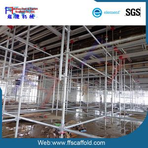 48.3*3.25mm Galvanized Steel Ringlock Scaffolding System pictures & photos