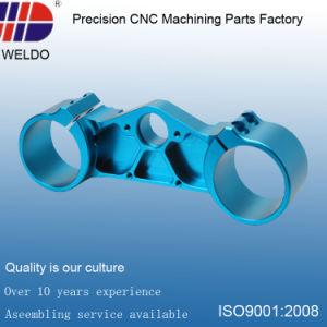 Small MOQ Blue Anodize Precision Aluminum Machining CNC Parts pictures & photos