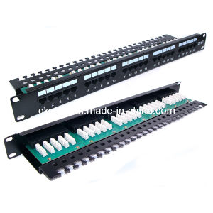 25 Port Rj11 Cat. 3 Telephone Patch Panel pictures & photos