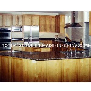 ODM Design Natural Black Granite Stone Countertop for Kitchen pictures & photos