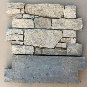 Sesame Yellow Granite Cement Culture Stone pictures & photos