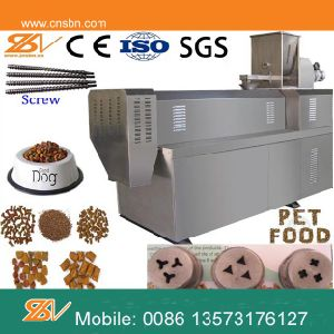 Fully Automatic Stainless Steel Pet Food Machinery/Processing Line/Production Line pictures & photos