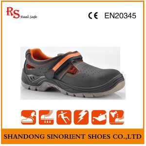 Good Quality Summer Safety Shoes with Cow Nubuck Leather RS190 pictures & photos