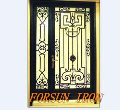 Popular Elegant Security Iron Door pictures & photos
