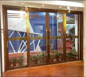 Australian Standard As2047 Thermal Break Aluminum Sliding Door (BHA-DF19) pictures & photos