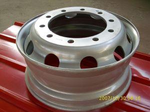 Truck Trailer Steel Tube Wheel Rim 8.5X24 pictures & photos