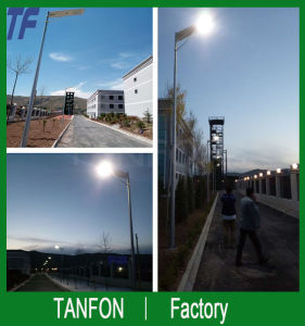 6W-80W High Lumen All in One Solar Street Light pictures & photos