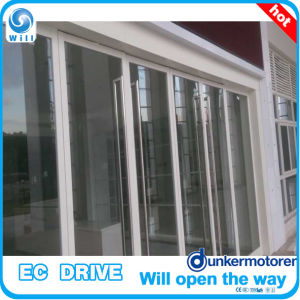 Frameless Glass Sliding Automatic Door Operator pictures & photos