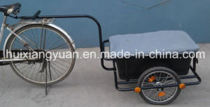 Tc3004 90L Bicycle Trailer Cart with Plastic Tray/Bike Carto Trailers/Bike Trailer/Garden Wagon Bicycle Cart/Garden Trailer