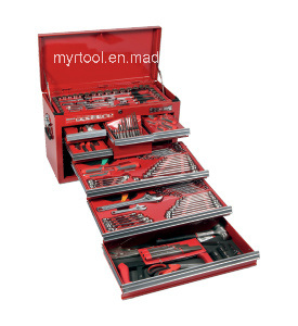 Combination Hand Tool Kit in Metail Case pictures & photos