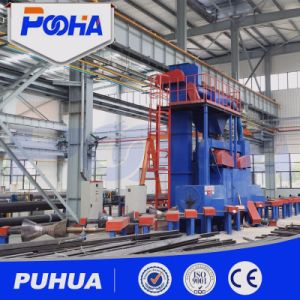 Roller Conveyor Steel Pipe Outer Wall Shot Blasting Cleaning Machine pictures & photos