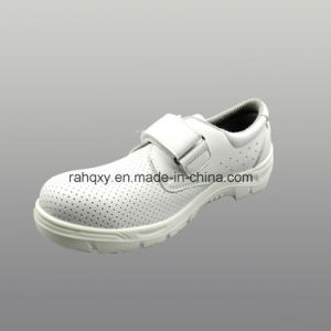 Professional White Micro Fiber Nurse Safety Shoes (HQ01030) pictures & photos