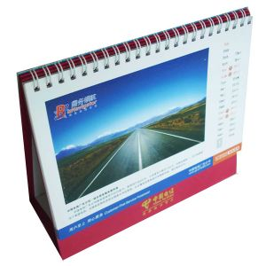 Art Paper, Spiral Binding Beautiful Calendar Printing pictures & photos