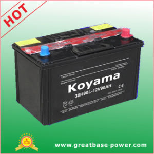 90ah 12V SMF Car Battery for Japanese Vehicle pictures & photos