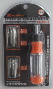 14PC Ratchet Screwdriver Set pictures & photos