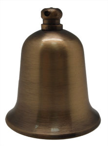 "2"" Fengshui Bell Wholesale, Made of Solid Brass"