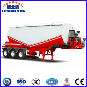 Low Density Powder Material Bulk Cement Cargotransport Tank Truck Semi Trailer pictures & photos