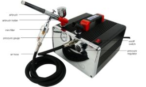 Airbrush Compressor HS-217 pictures & photos