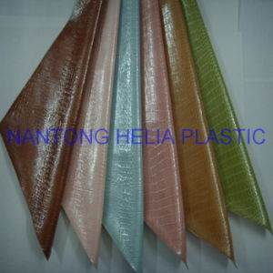 Hot Sell PVC Artificial Leather (HL21-07) for Furniture Leather, Sofa, pictures & photos