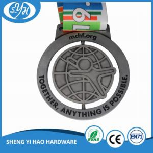 Zinc Alloy Customized Logo Sport Metal Medal pictures & photos
