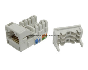 Keystone Jack Cat5e UTP 50u RJ45 Connectors Idealink (ID-KJU5E-004)