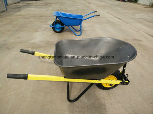 Big Metal Tray Wheelbarrow for Australia Market