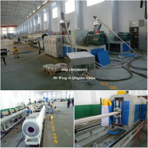 PVC Water Gas Pipe Extrusion Machine Production Line