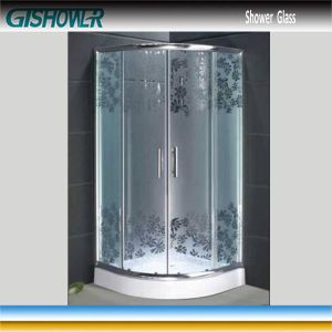 Tempered Shower Glass (Acid No 2) pictures & photos